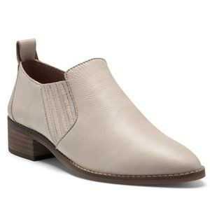 Lucky Brand Lenci Booties Moonlight Leather Size 9